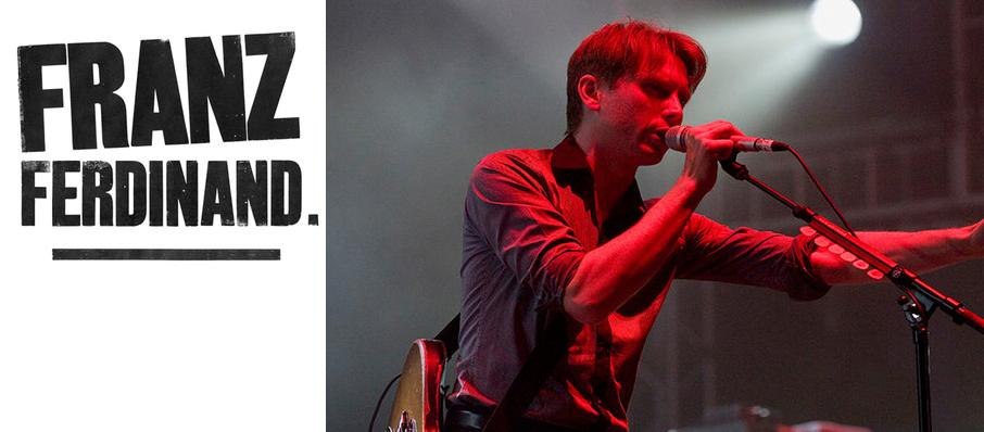 Franz Ferdinand at Newport Music Hall
