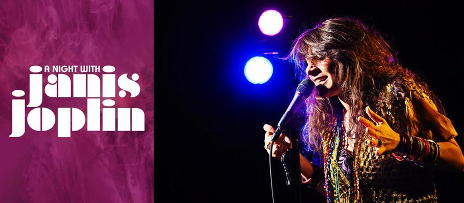 A Night with Janis Joplin at Palace Theater