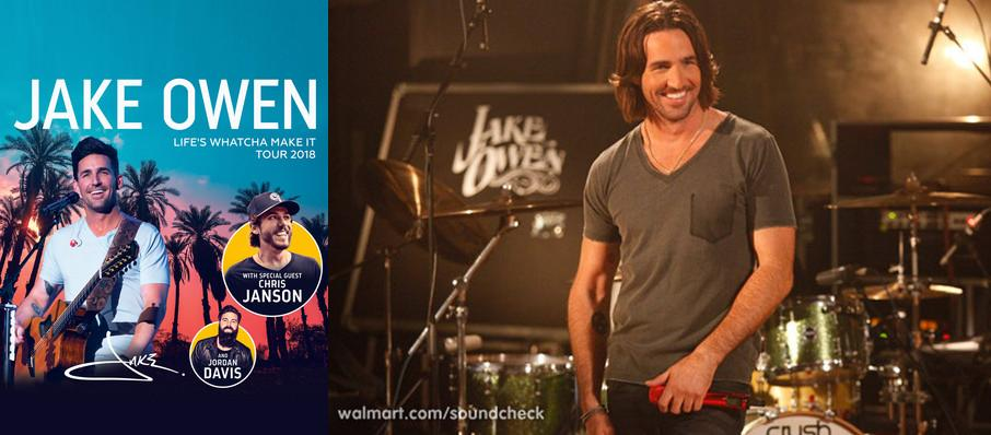 Jake Owen at Schottenstein Center