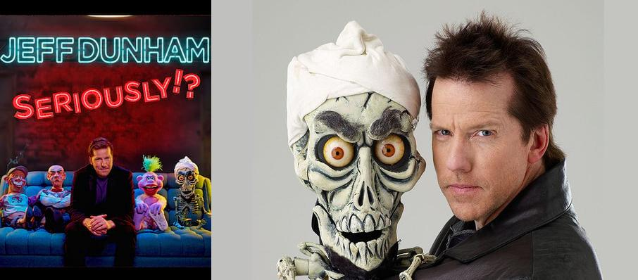 Jeff Dunham at Celeste Center