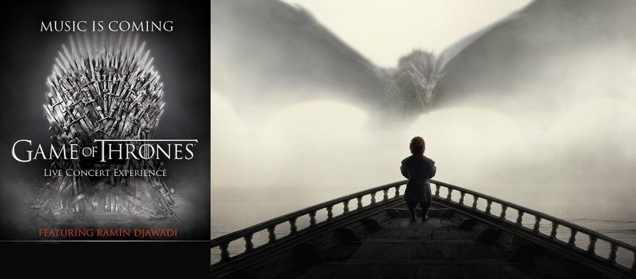 Game of Thrones Live Concert Experience: Ramin Djawadi at Schottenstein Center