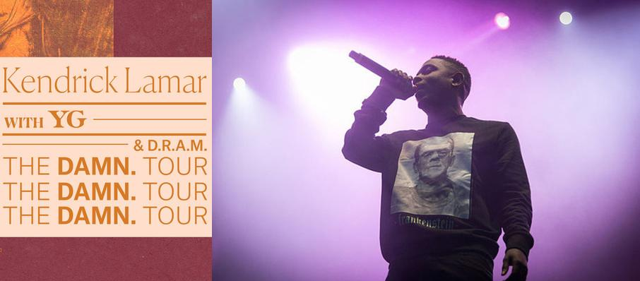 Kendrick Lamar with YG and DRAM at Schottenstein Center