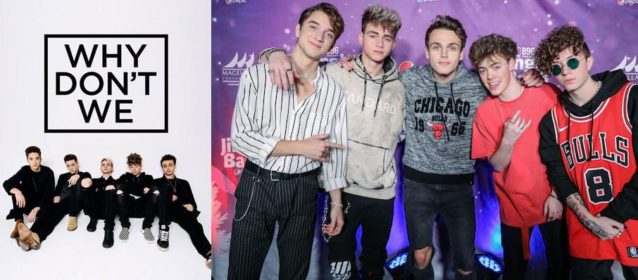 Why Don't We at EXPRESS LIVE!