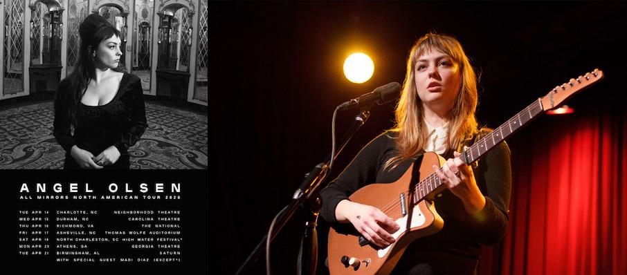 Angel Olsen at Columbus Athenaeum