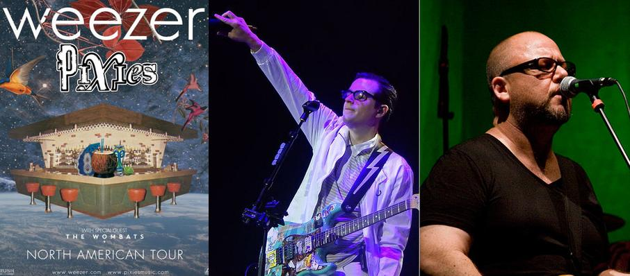 Weezer and Pixies at Schottenstein Center