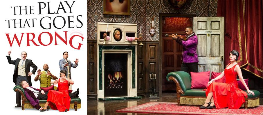 The Play That Goes Wrong at Palace Theater
