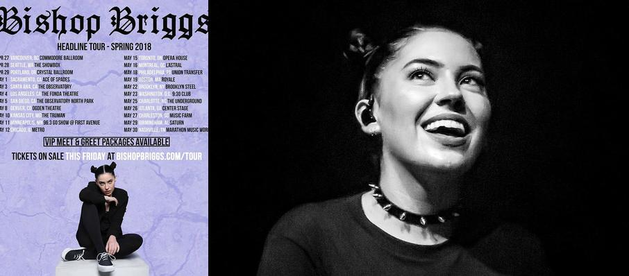 Bishop Briggs at Newport Music Hall