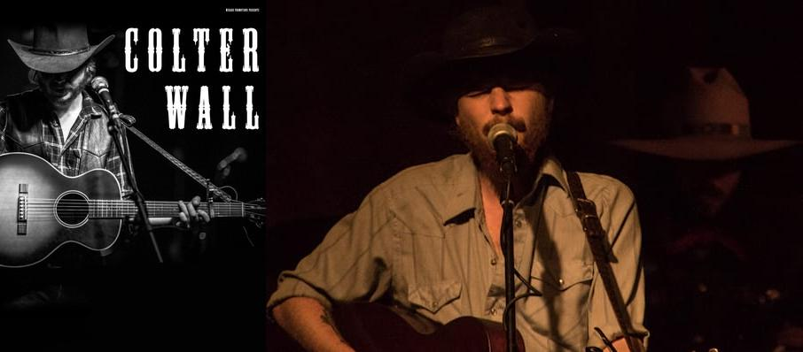 Colter Wall at A and R Music Bar