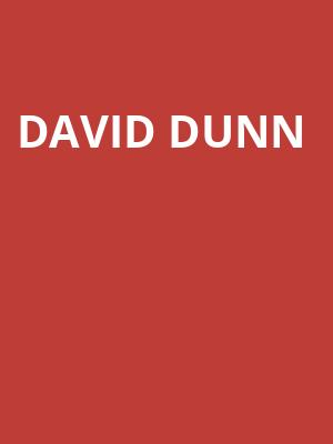 David Dunn at Rumba Cafe