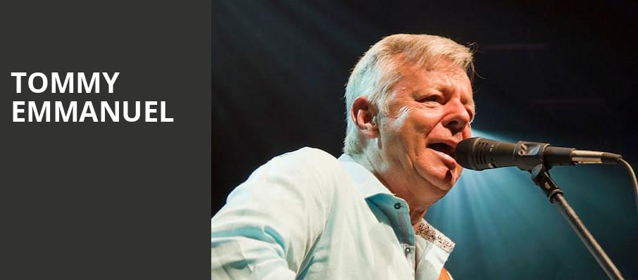 Tommy Emmanuel, Capitol Theater, Columbus