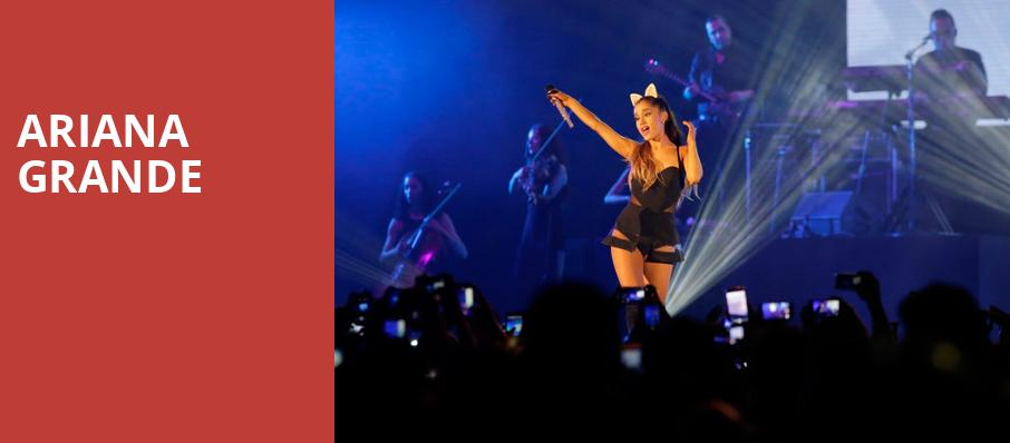Ariana Grande, Schottenstein Center, Columbus