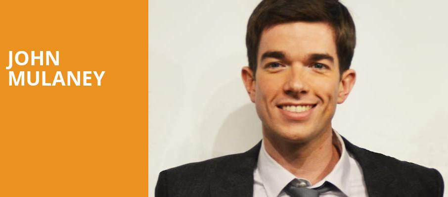 John Mulaney, Mershon Auditorium, Columbus