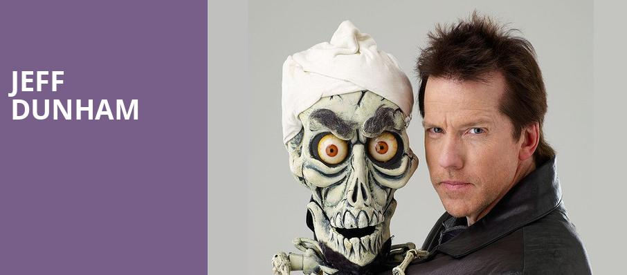 Jeff Dunham, Schottenstein Center, Columbus