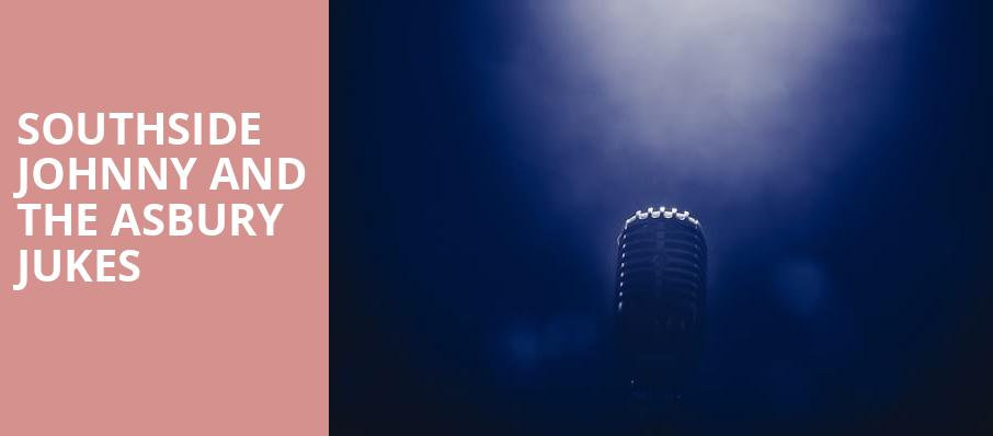 Southside Johnny and The Asbury Jukes, Speaker Jo Ann Davidson Theatre, Columbus
