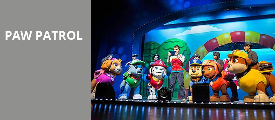 Paw Patrol, Ohio Theater, Columbus