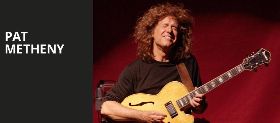 Pat Metheny, Southern Theater, Columbus