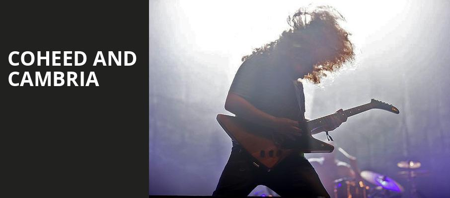 Coheed and Cambria, EXPRESS LIVE, Columbus