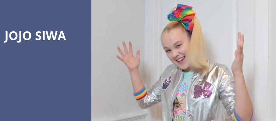 Jojo Siwa, Schottenstein Center, Columbus