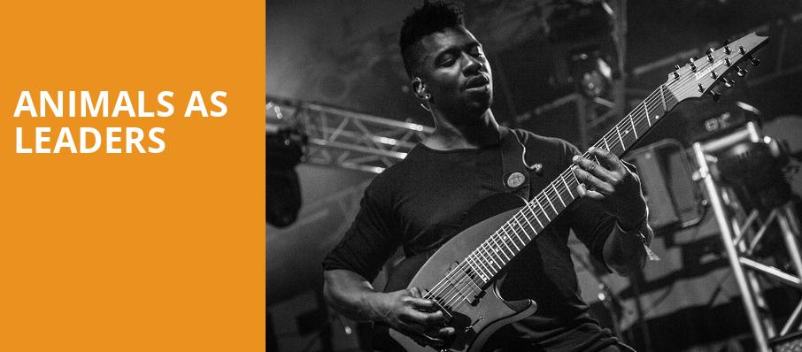 Animals As Leaders, Newport Music Hall, Columbus