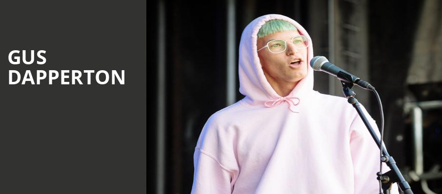 Gus Dapperton, Newport Music Hall, Columbus