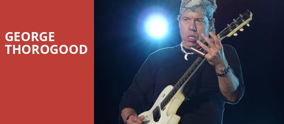 George Thorogood, Celeste Center, Columbus