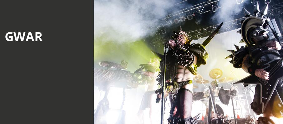 GWAR, Newport Music Hall, Columbus