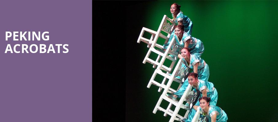 Peking Acrobats, Southern Theater, Columbus
