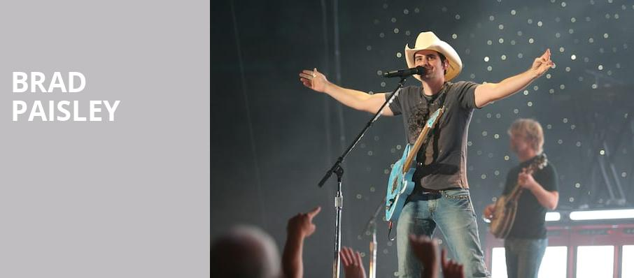 Brad Paisley, Allen County Fairgrounds, Columbus